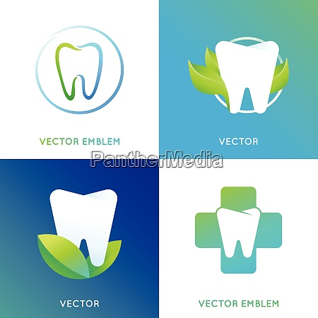 vector set of logo design template