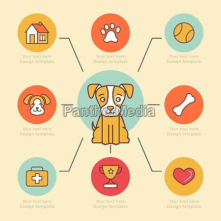 vector infographics design elements icons and