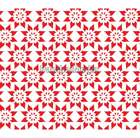 simple abstract seamless pattern of flower