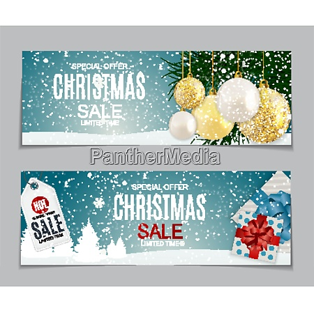 abstract vector illustration christmas sale special