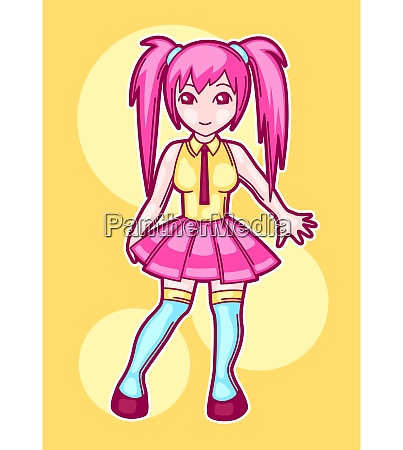 japanese anime cosplay girl cute fashion