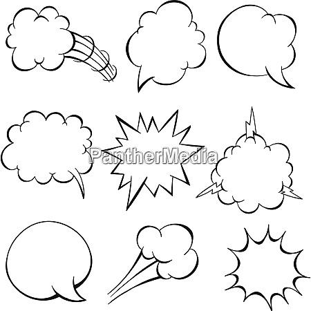 cartoon speech bubble cartoon speech bubble