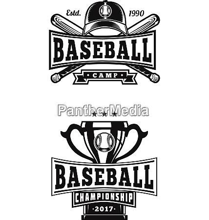 baseball abzeichen label logo vorlage baseball