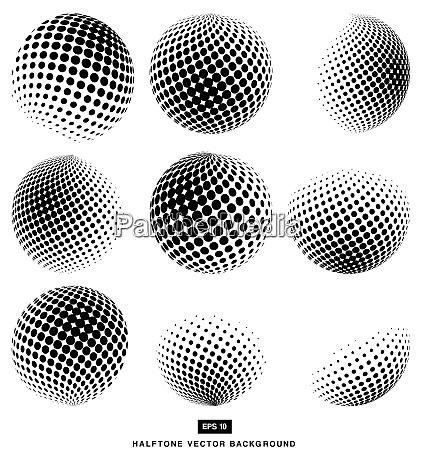design vektor halbton abstrakt element weiss