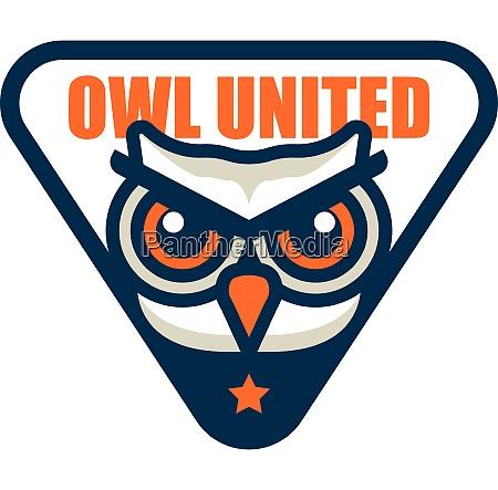 owl bird sign symbol logo emblem