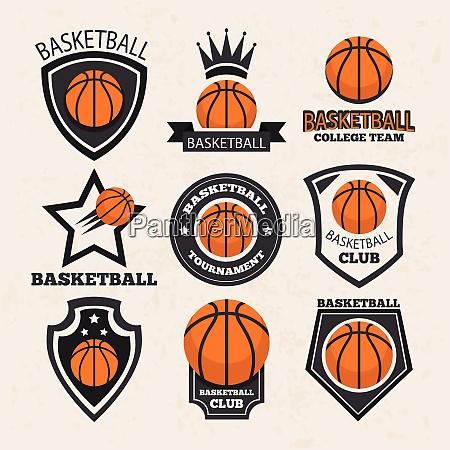 basketball sport thema vektor kunst basketball