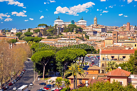 eternal city of rome landmarks an