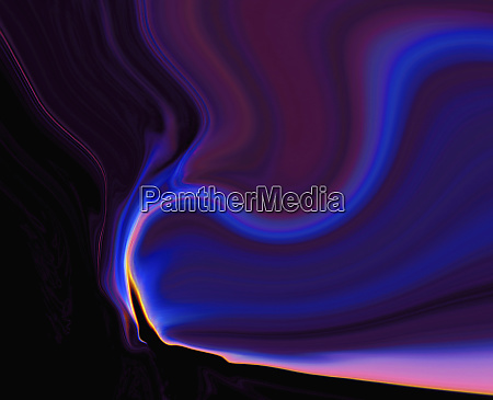 abstract converging light trails pattern