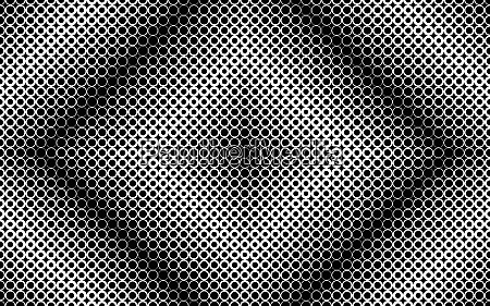 monochrome abstract pattern of rows of