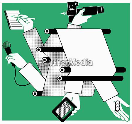 gedruckte zeitungen mobile technologie und medien