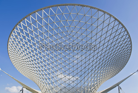 abstrakte glasstruktur