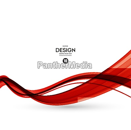 abstract red wavy lines abstract smooth
