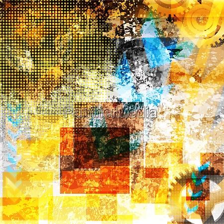 glaenzende eps10 hintergrund illustration