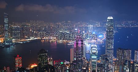victoria harbour hong kong 06 november