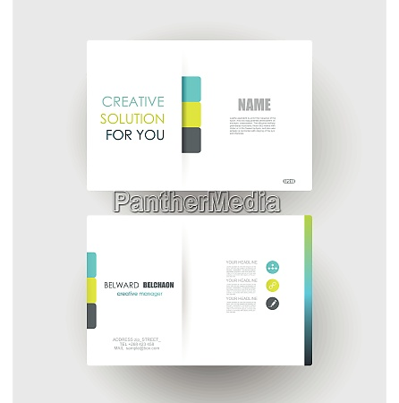 business cards design vector template