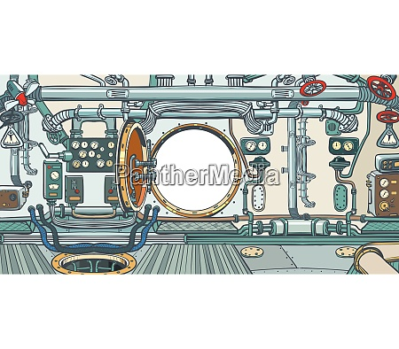 compartment, or, command, deck, of, a - 26825552