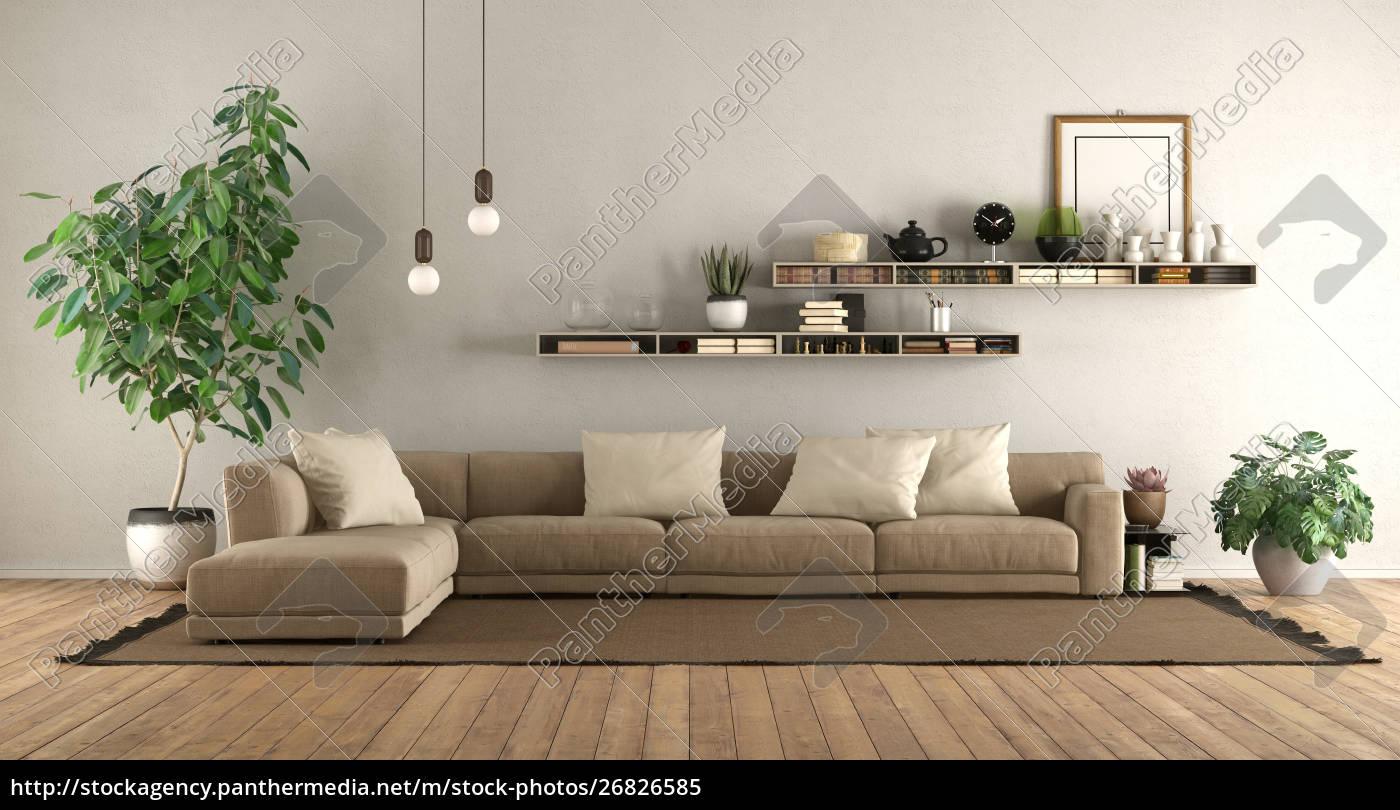 Stockfoto 10 - Modernes Wohnzimmer mit Sofa