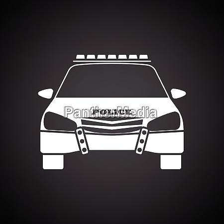 die, ikone, der, polizei - 26827466