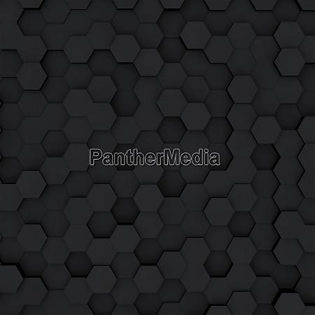 dunkelgrau sechseck waben abstraktehintergrund