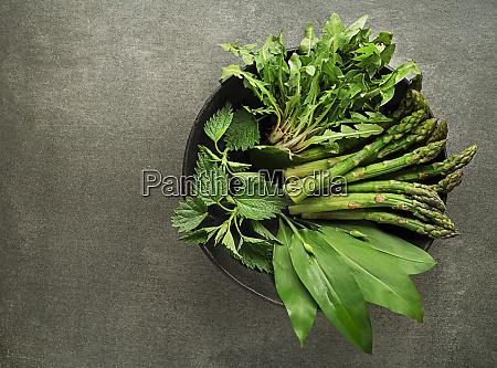 spring healthy food