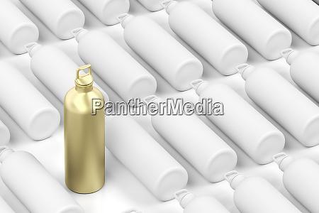 goldene flasche