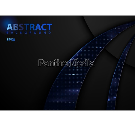 dark abstract tech background with blue