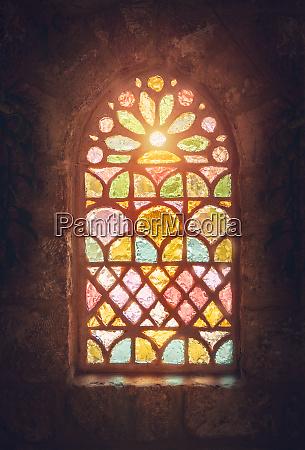 glasmalereifenster