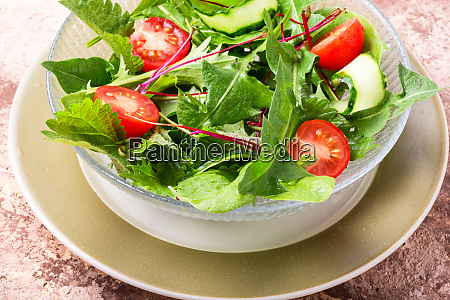 healthy vegan salad