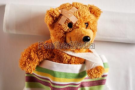 cute little teddy bear with an