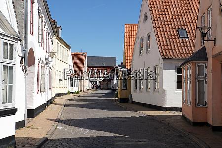 historische altstadt aabenraa sueddaenemark daenemark