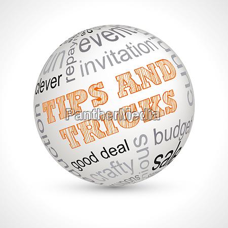 tipps und tricks themenbereich mit keywords