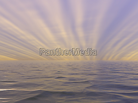 die weite der ozeane zum horizont