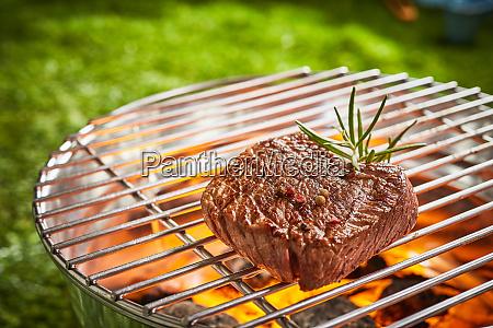succulent medallion of prime beef fillet