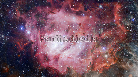 bunte tiefe raum universum konzept hintergrund