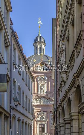 stiftskirche neumuenster in wuerzburg