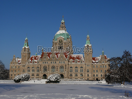 winter in hannover with the new