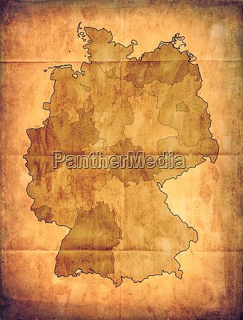 altdeutschland karte