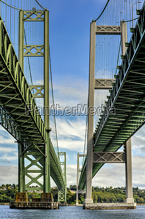 low angle view of narrows bridge