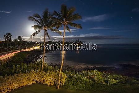 usa pazific ocean hawaii kauai poipu