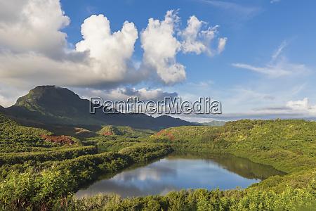 usa hawaii kauai menehune fishpond
