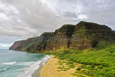 usa hawaii kauai polihale state park