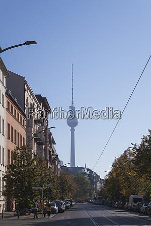 deutschland berlin blick auf den berliner
