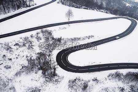 austria wienerwald cars driving on mountain
