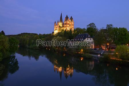 germany hesse limburg limburg cathedral at