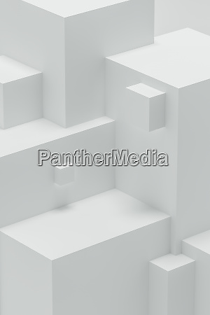 abstrakte 3d winkelformen