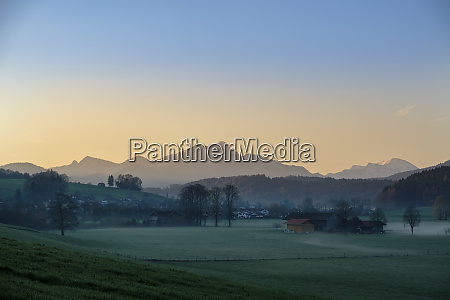 germany bavaria upper bavaria view from