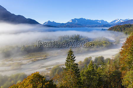 germany upper bavaria aerial view of
