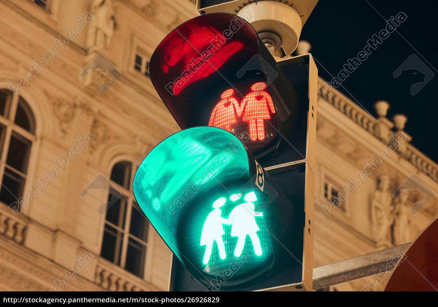 Österreich, wien, schwulen-ampeln - 26926829