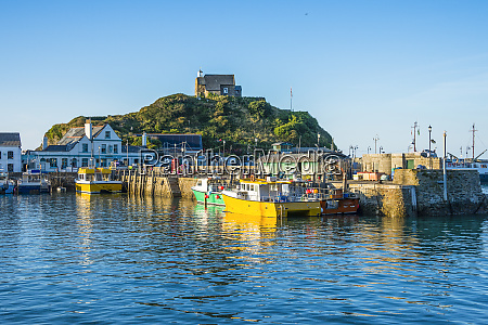uk england devon boat harbour of