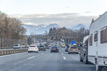 highway scenery in germany